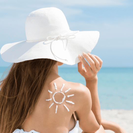 woman who had her skin cancer treatment in Bend Oregon